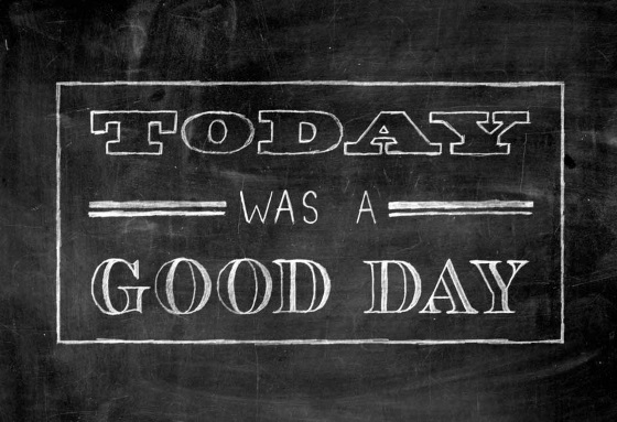 today-was-a-good-day
